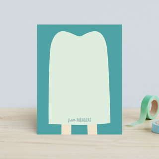 popsicle notes Children's Stationery