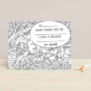 Birds Children's Stationery