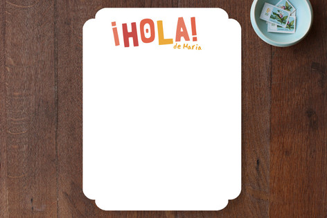 Hola! Children's Stationery