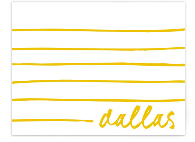 Line It Up Children's Personalized Stationery