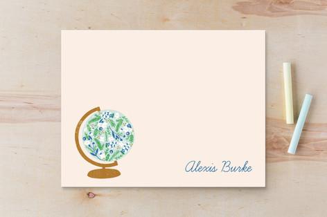 Global Flor Children's Stationery