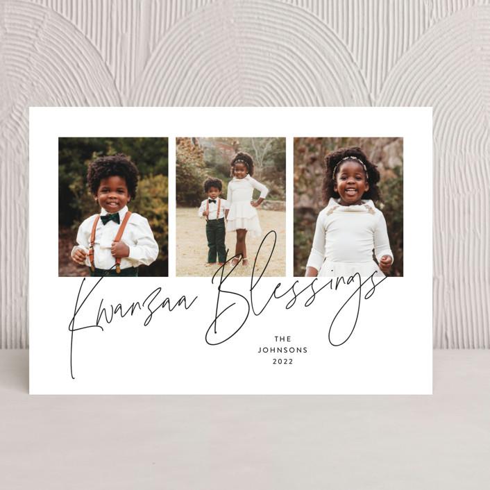 """""""Kwanzaa Blessings"""" - Kwanzaa Cards in Porcelain by Kristel Torralba."""