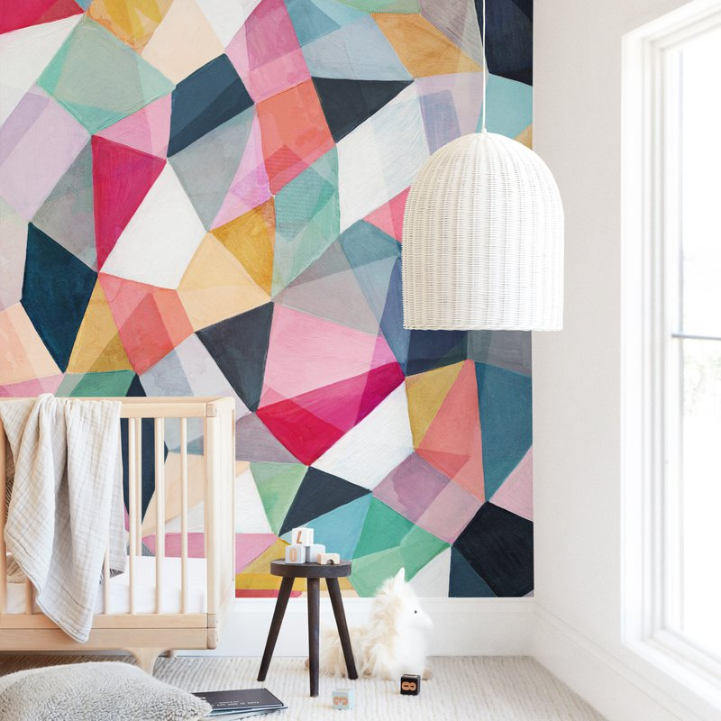 Kaleidoscope No.1 Wall Mural