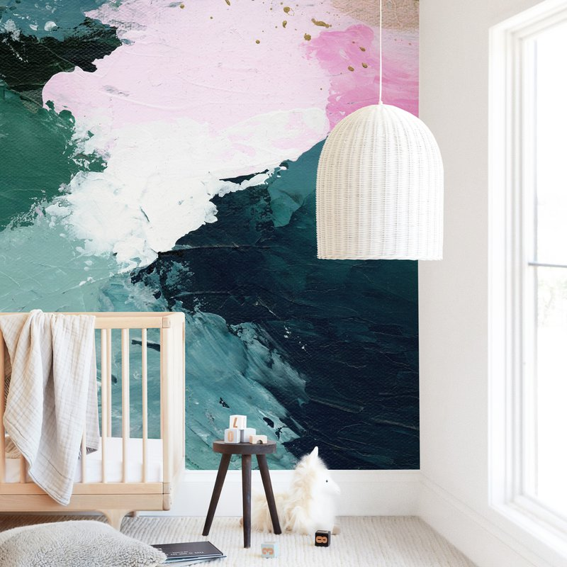 Vivid Splash Wall Mural