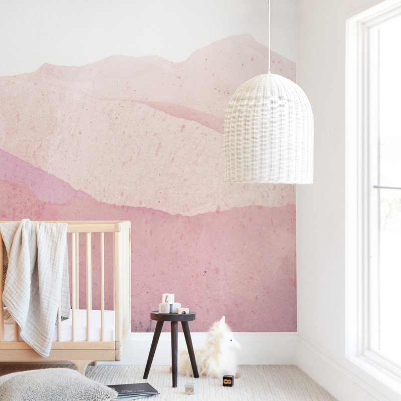 Mountain Range Wall Mural