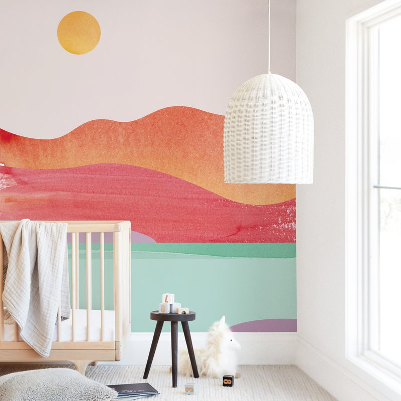 """""""Looking Far West"""" - Kids Non-custom Wall Murals by sue prue in beautiful frame options and a variety of sizes."""