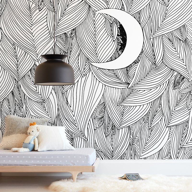 """""""Peek A Boo"""" - Kids Non-custom Wall Murals by Helen H Wu in beautiful frame options and a variety of sizes."""