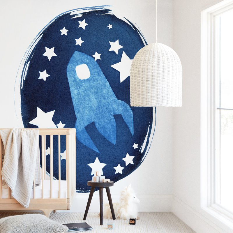 To the stars and beyond Wall Mural