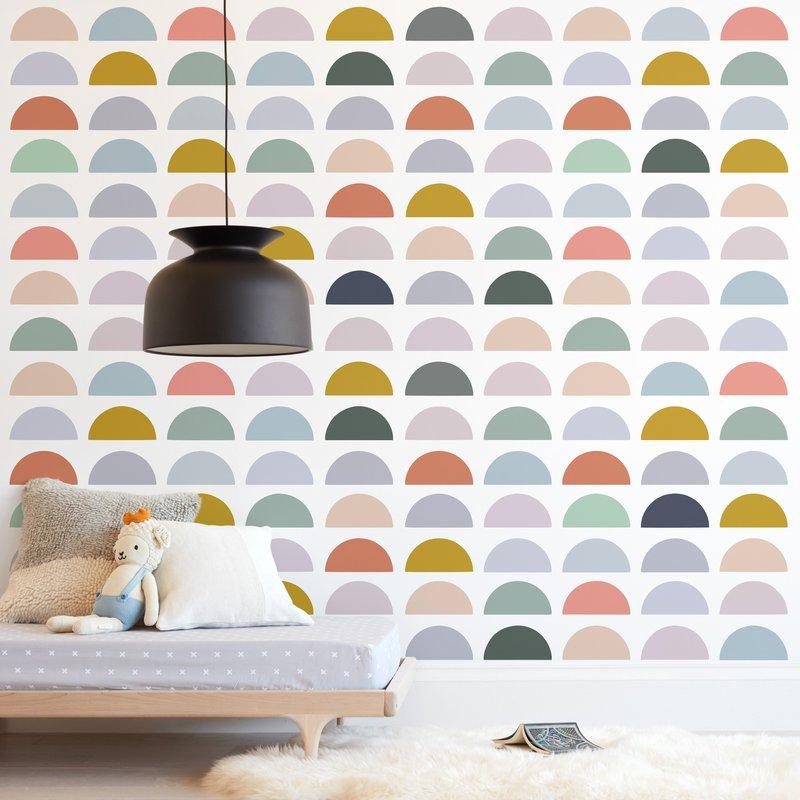 Spectrum Tiles Wall Mural