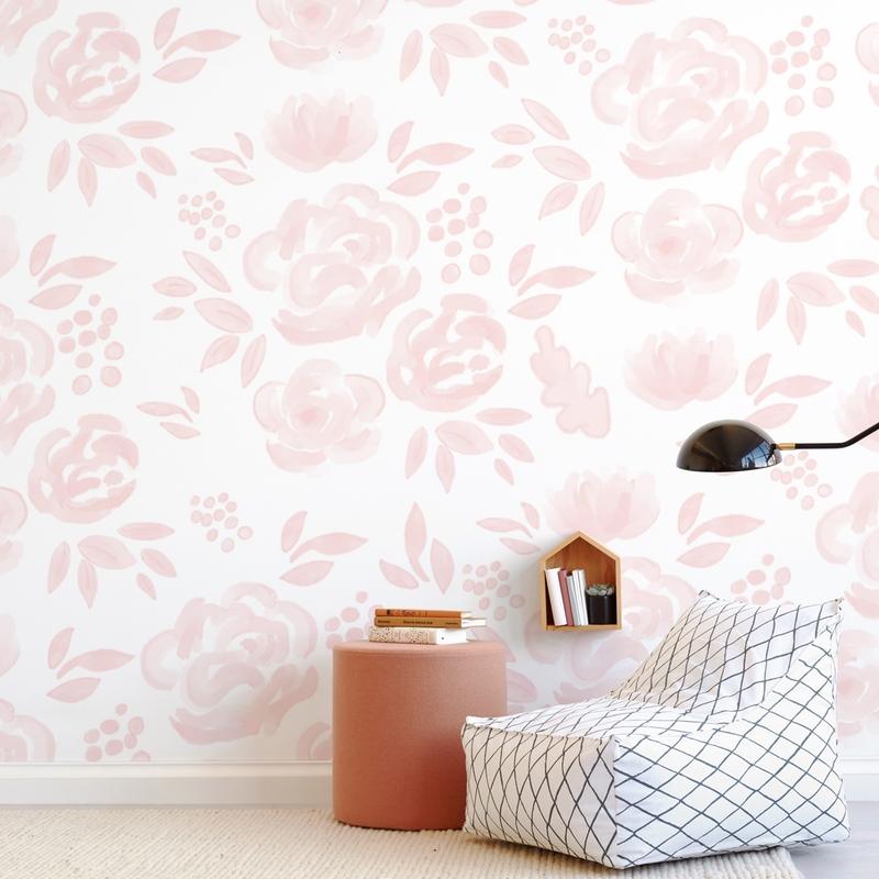 Pretty in Pink Children's Wall Murals