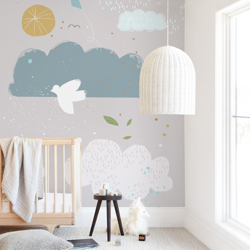 """""""Dreamy"""" - Kids Non-custom Wall Murals by Sumak Studio in beautiful frame options and a variety of sizes."""