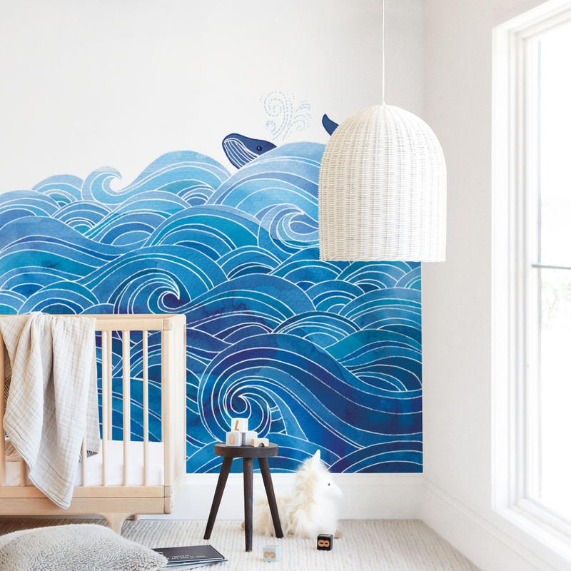 """""""seas the day"""" - Kids Non-custom Wall Murals by Stardust Design Studio in beautiful frame options and a variety of sizes."""