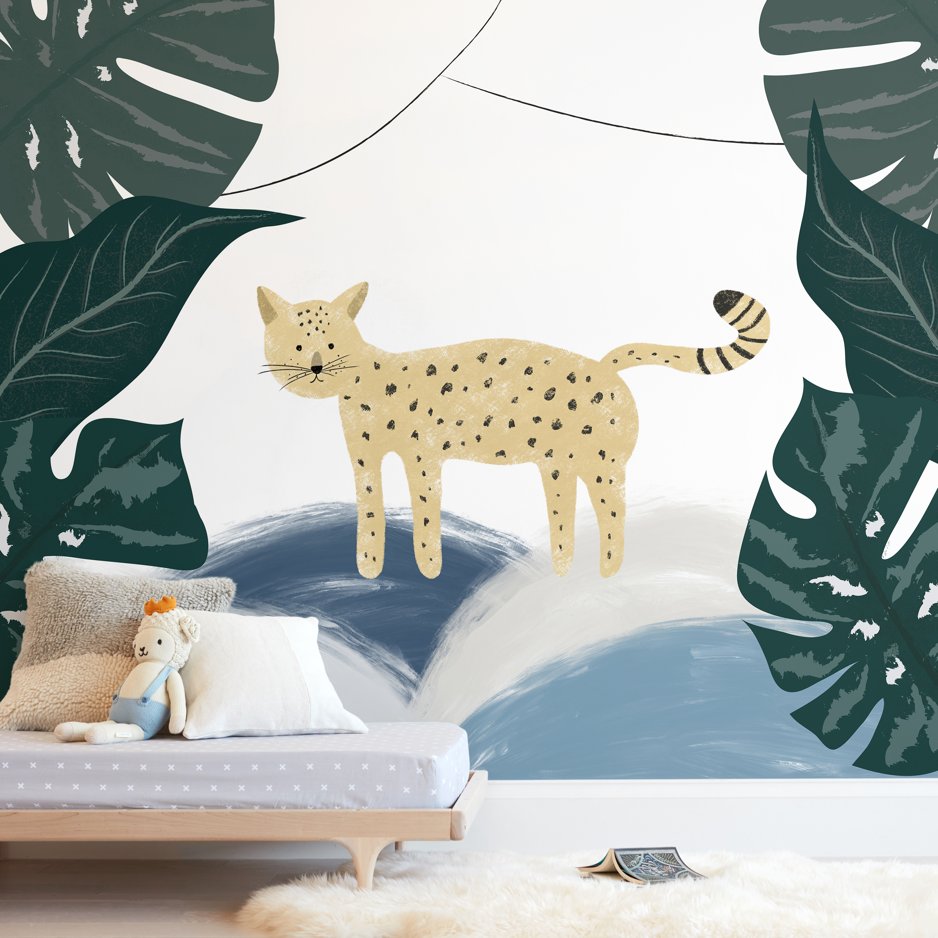 Meow Wall Mural
