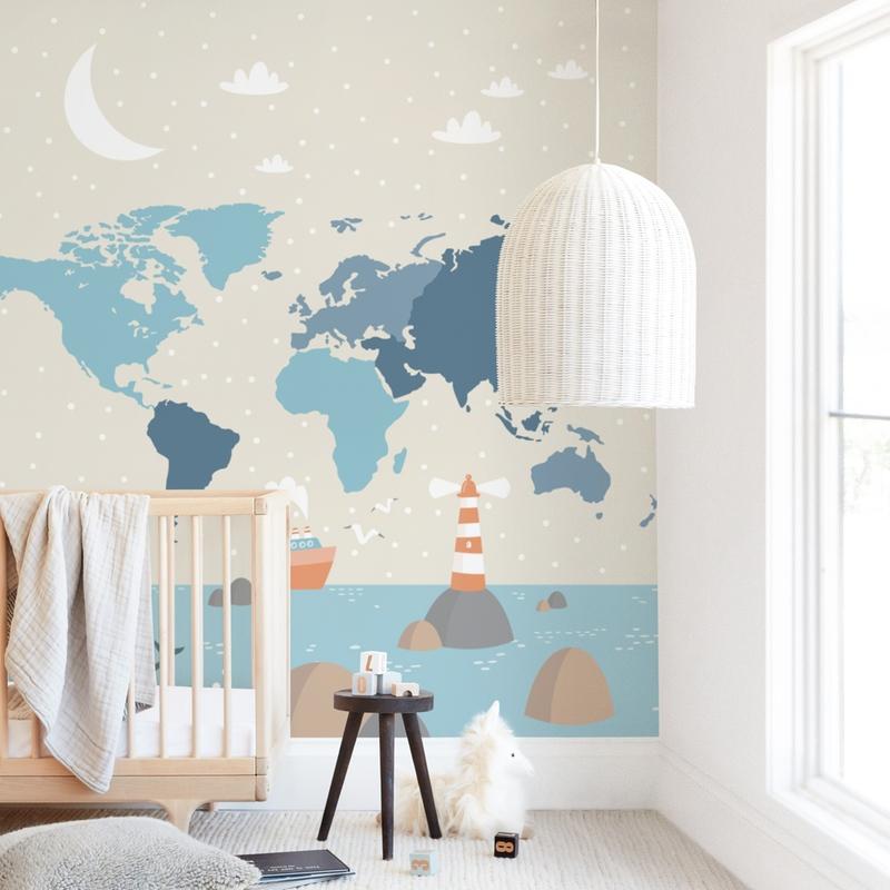 Globe Wall Mural
