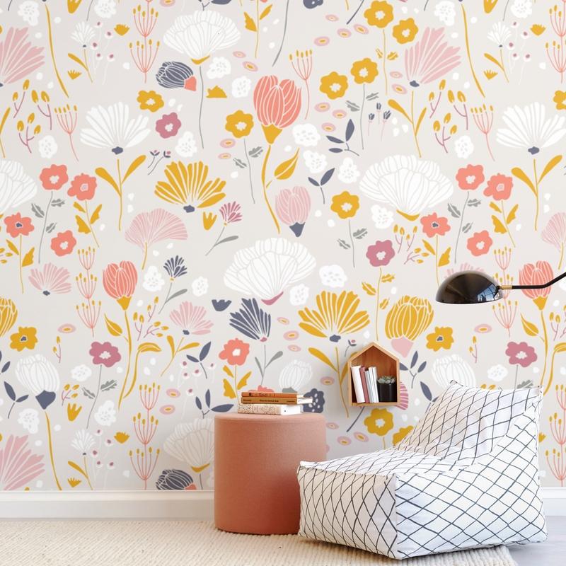 Glad Garden Wall Mural