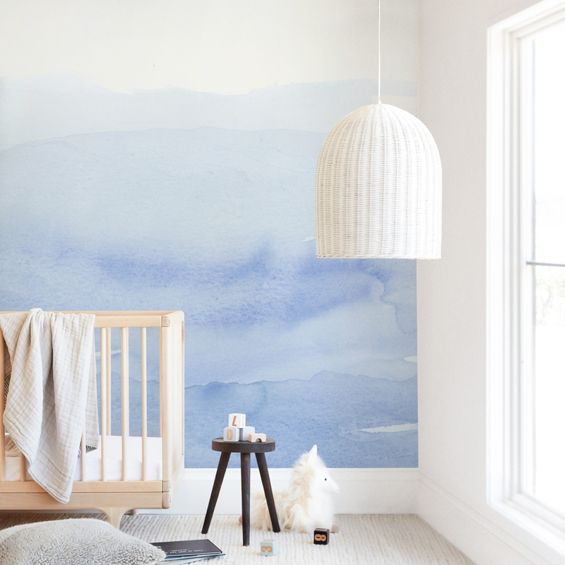 """""""Dream BIG"""" - Kids Non-custom Wall Murals by Kate Ahn in beautiful frame options and a variety of sizes."""