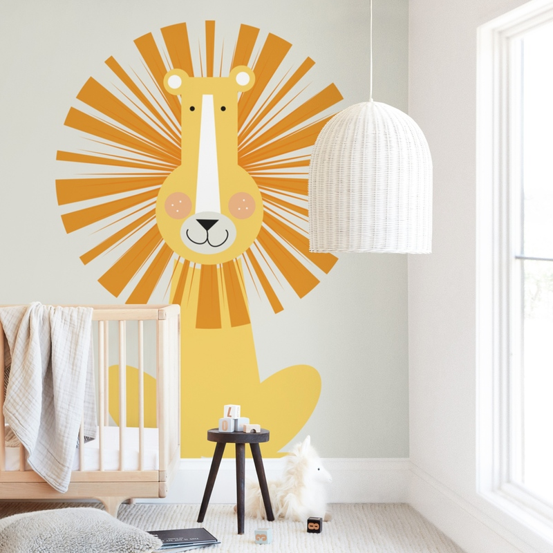 Lion Lion Wall Mural