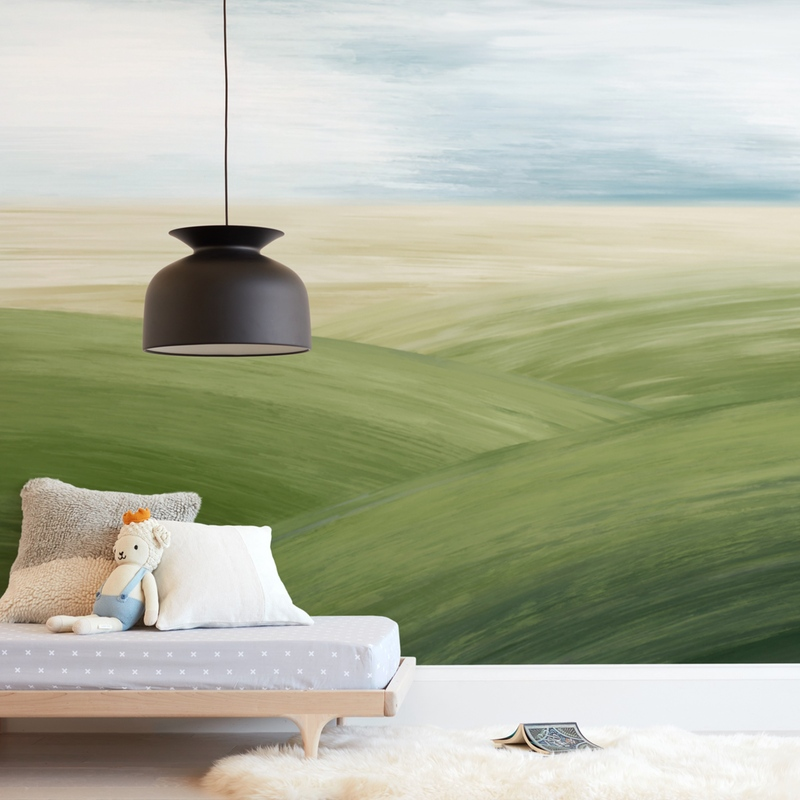 Fields Forever Wall Mural