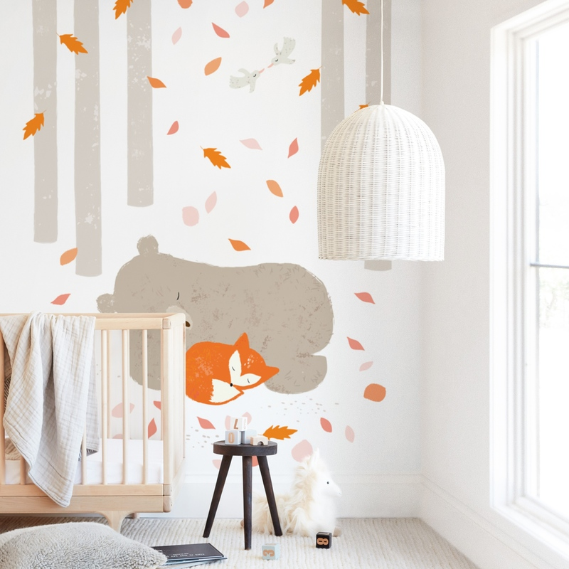 Woodland Dream Wall Mural