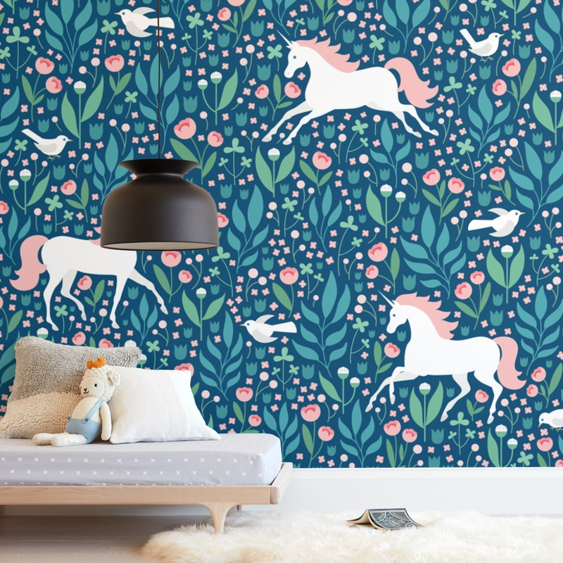 Magical Garden Wall Mural