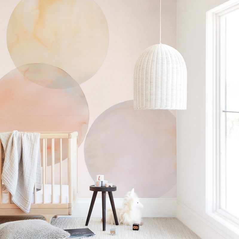 """Glow 02"" - Kids Non-custom Wall Murals by jinseikou in beautiful frame options and a variety of sizes."