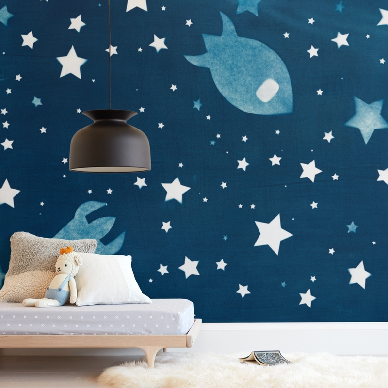 Through space and time Wall Mural