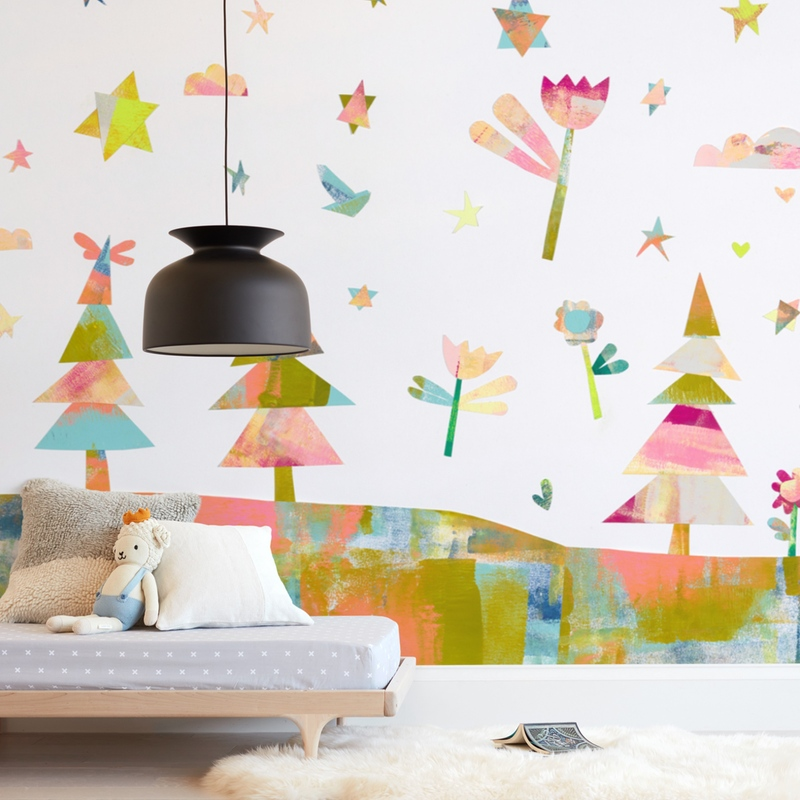 Forest Magic Wall Mural