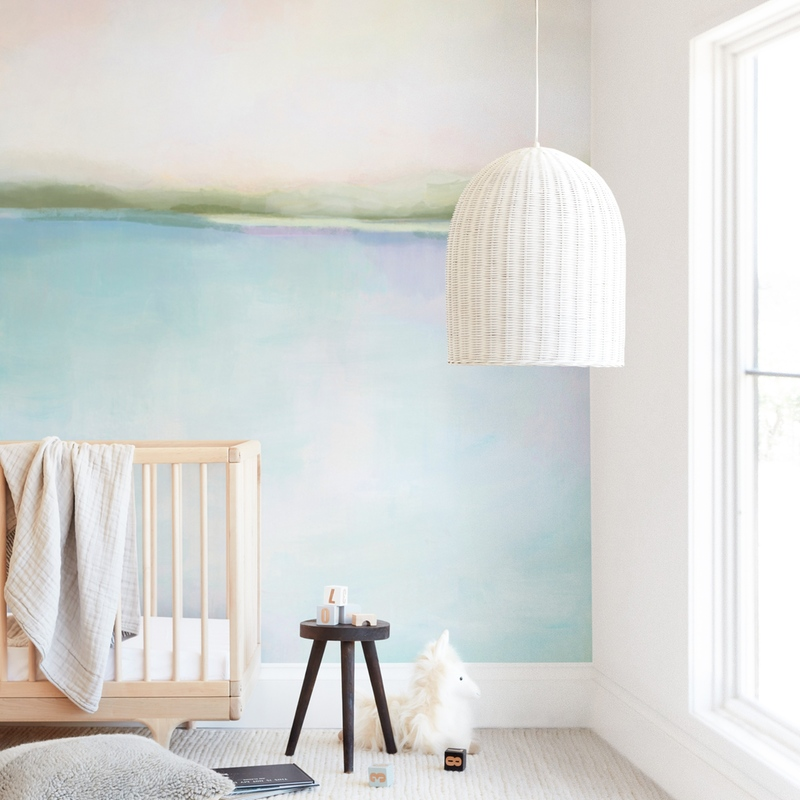"""Coral Bay"" - Kids Non-custom Wall Murals by Alison Jerry Designs in beautiful frame options and a variety of sizes."