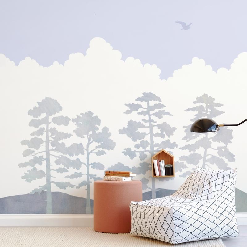 Treetops Wall Mural