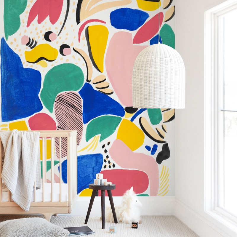 """""""Primario"""" - Kids Non-custom Wall Murals by FERNANDA MARTINEZ in beautiful frame options and a variety of sizes."""