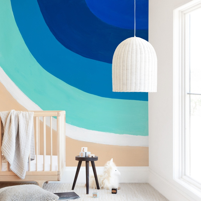 """""""By the Bay"""" - Kids Non-custom Wall Murals by Jenny Partrite in beautiful frame options and a variety of sizes."""
