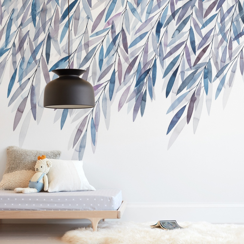 Dreaming of Leaves Wall Mural