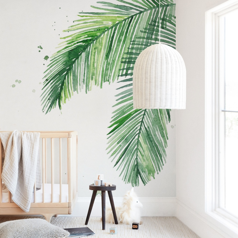 Summer Palms Wall Mural