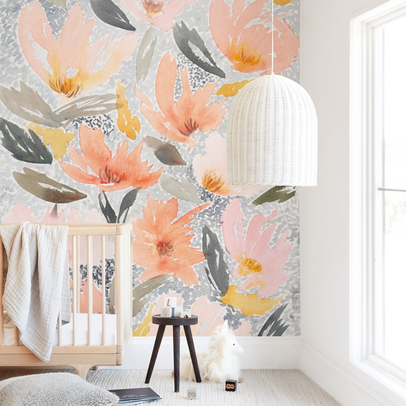 Speckled Garden Wall Mural