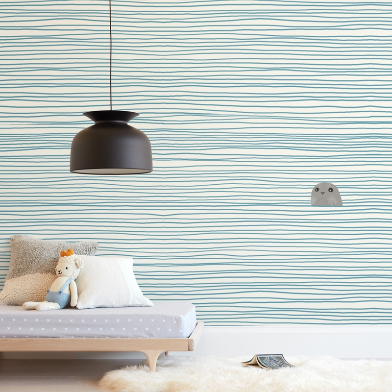 """""""Seal"""" - Kids Non-custom Wall Murals by Jorey Hurley in beautiful frame options and a variety of sizes."""