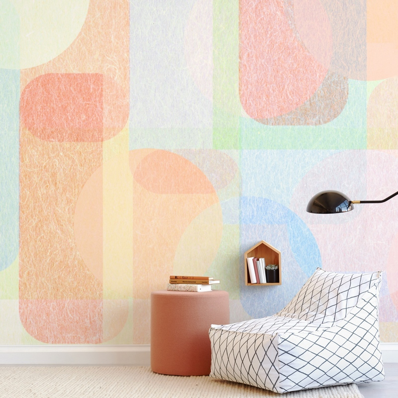 """Scandinavian Modern Revisit"" - Kids Non-custom Wall Murals by Lisa Sundin in beautiful frame options and a variety of sizes."