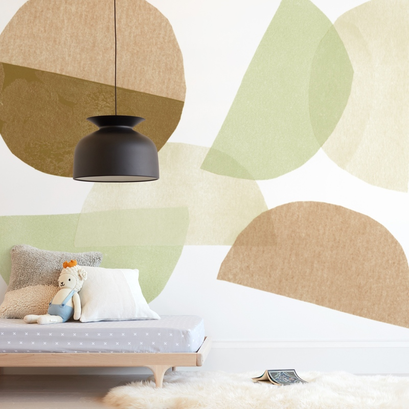 """""""Shifting"""" - Kids Non-custom Wall Murals by Kelly Nasuta in beautiful frame options and a variety of sizes."""