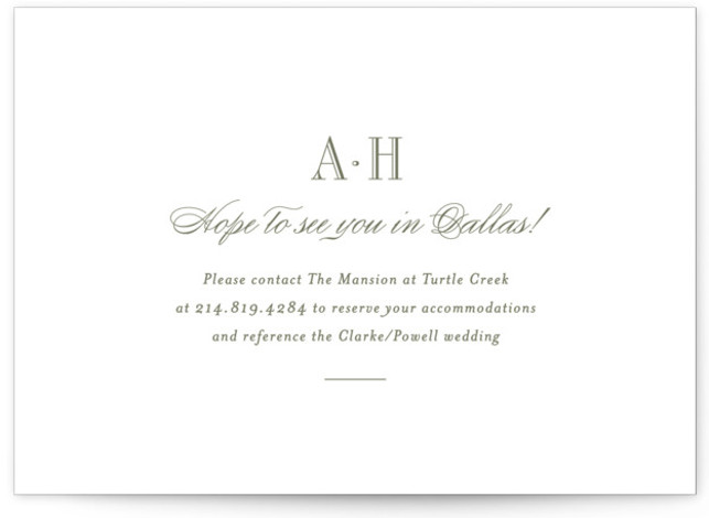 This is a landscape classical, elegant, formal, traditional, Direction Cards by Toast & Laurel called Hepburn with Letterpress printing on 100% Cotton in Card Flat Card format. A timeless & elegant save the date to set the tone for your ...