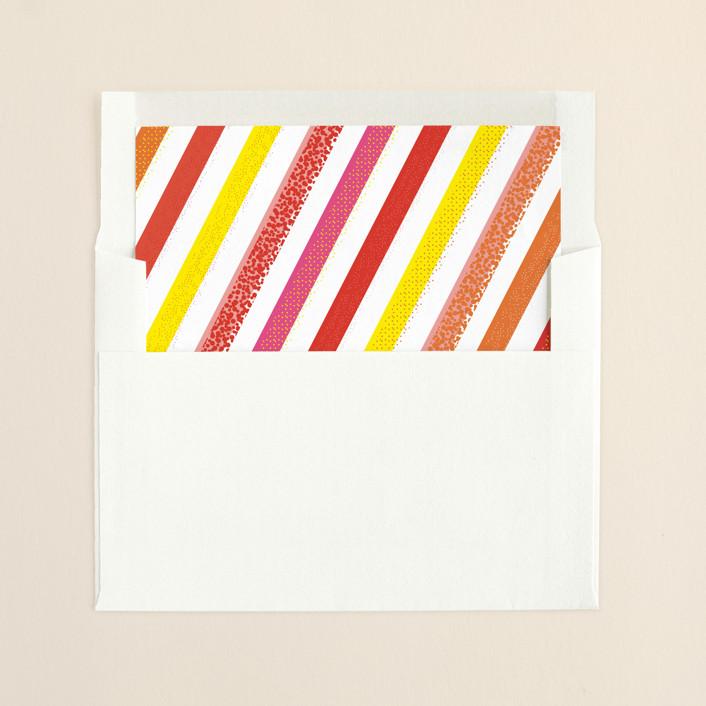 """Mod Photo Stack"" - Modern Slip-in Envelope Liners in Fruit Punch by 2birdstone."