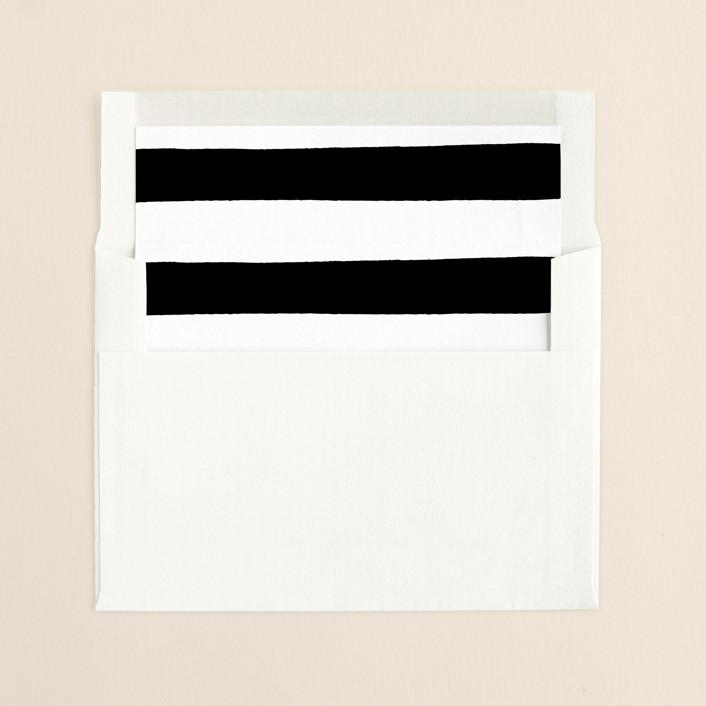 """""""Festive Joy"""" - Simple, Minimalist Slip-in Envelope Liners in Tuxedo by Bethan."""