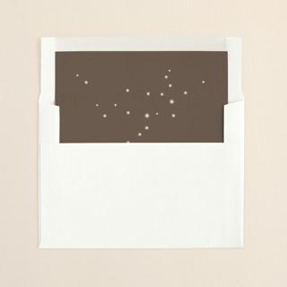 """""""Fireflies"""" - Slip-in Envelope Liners in Zuni Brown by Paige Rothhaar."""