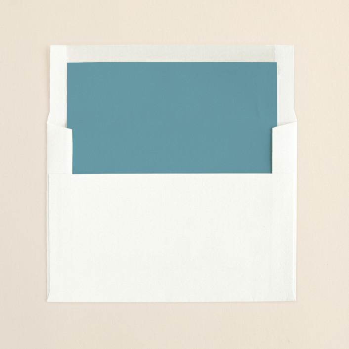"""SWEET LINEN"" - Rustic Slip-in Envelope Liners in Light Denim by Carrie Eckert."