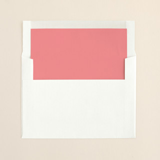 """Apple Blossom"" - Modern, Modern Slip-in Envelope Liners in Medium Pink by annie clark."