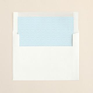 """Modern Swag"" - Preppy, Preppy Slip-in Envelope Liners in Blue Frost by danielleb."