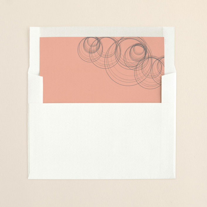 """Intricate"" - Formal, Formal Slip-in Envelope Liners in Poppy by Andrea Snaza."