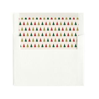 Retro Merry & Bright Envelope Liners