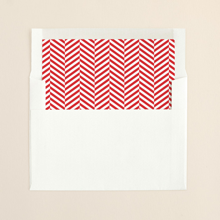 """""""Southern Accent"""" - Simple Slip-in Envelope Liners in Rodeo Red by Toast & Laurel."""
