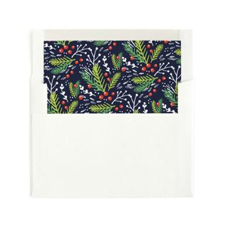 Festive Foliage Envelope Liners