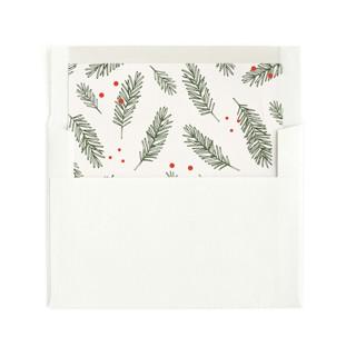 Noel Ornaments Envelope Liners