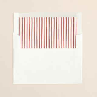 """Vibrant Joy"" - Simple Slip-in Envelope Liners in Candied Apple by Lisa Cersovsky."